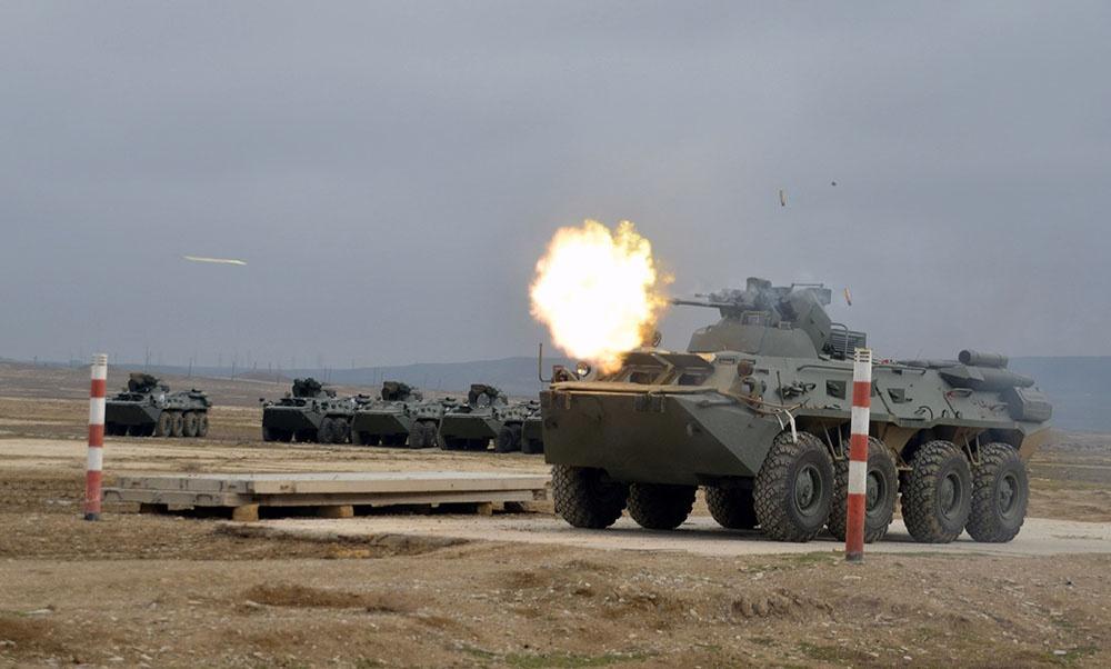 Rusiyadan gətirilən hərbi texnikanın bir hissəsi silahlanmaya daxil edilib