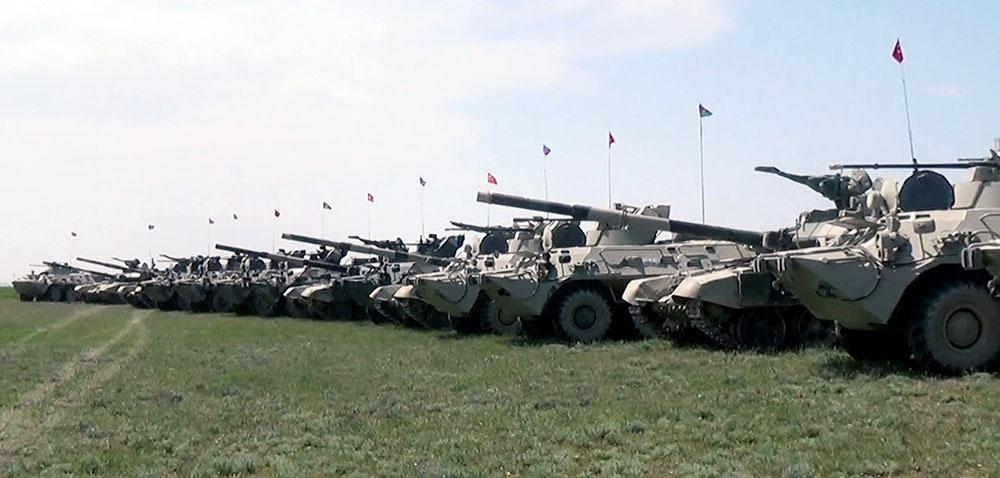 Azərbaycan-Türkiyə birgə döyüş atışlı taktiki təlimləri başlayıb