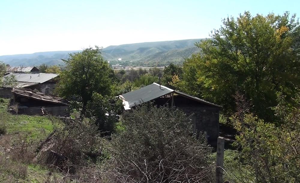 Qubadlı rayonunun işğaldan azad olunan kəndlərinin videogörüntüsü - VİDEO