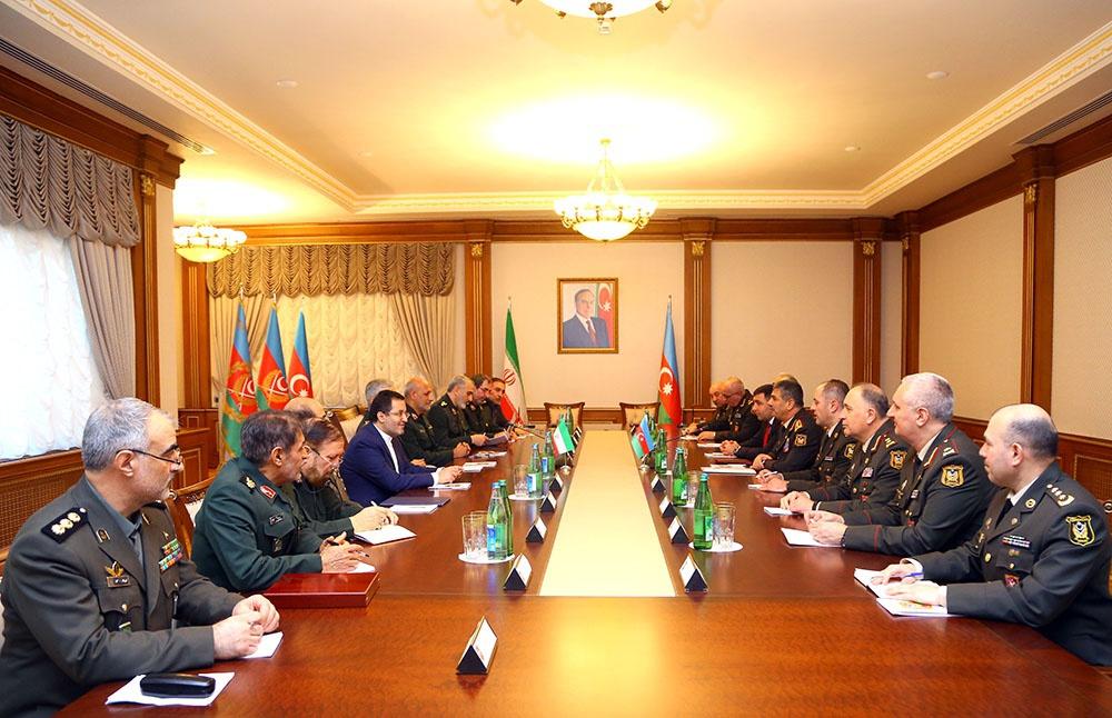 Azərbaycan-İran hərbi əməkdaşlığının inkişaf perspektivləri müzakirə olunub - VİDEO