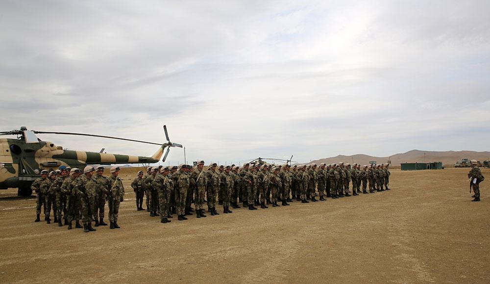 Bakıda NATO qiymətləndirilməsi təlimi keçirilib - VİDEO