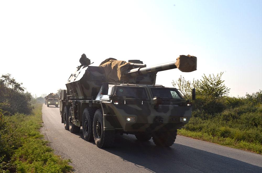 Raket və artilleriya bölmələrinin taktiki təlimləri keçirilib