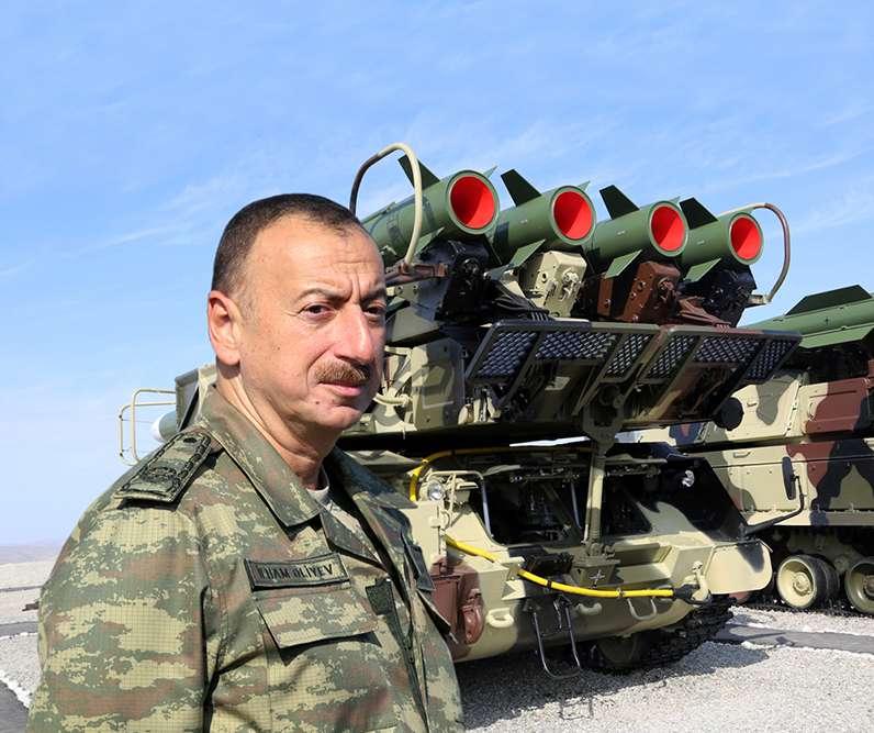 Ali Baş Komandan İlham ƏLİYEV: Azərbaycan Ordusu dünyanın ən güclü orduları  sırasındadır