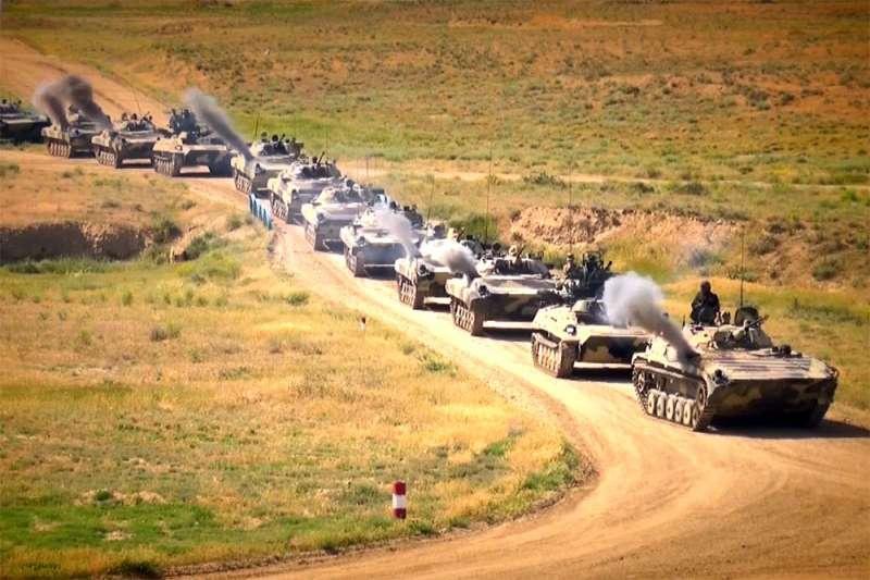 Azərbaycan-Türkiyə birgə taktiki təlimi - VİDEO